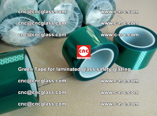 Green Tape for laminated glass safety glazing, EVA FILM, PVB FILM, SGP INTERLAYER (12)