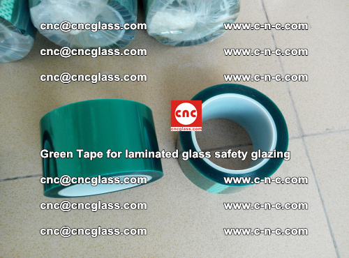 Green Tape for laminated glass safety glazing, EVA FILM, PVB FILM, SGP INTERLAYER (16)