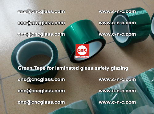 Green Tape for laminated glass safety glazing, EVA FILM, PVB FILM, SGP INTERLAYER (18)