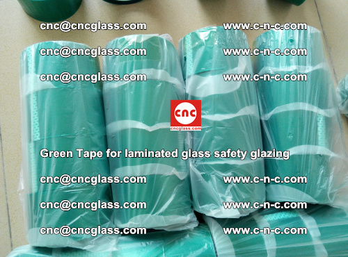 Green Tape for laminated glass safety glazing, EVA FILM, PVB FILM, SGP INTERLAYER (22)