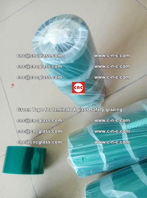 Green Tape for laminated glass safety glazing, EVA FILM, PVB FILM, SGP INTERLAYER (26)