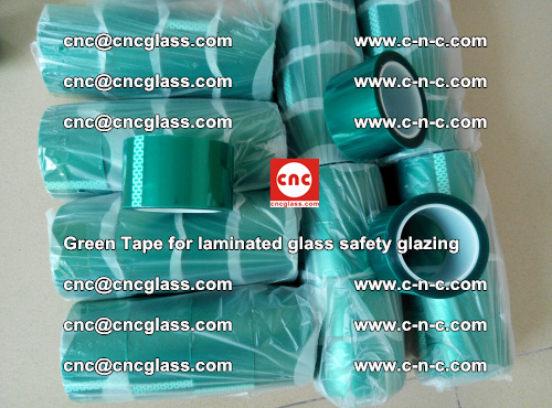 Green Tape for laminated glass safety glazing, EVA FILM, PVB FILM, SGP INTERLAYER (29)