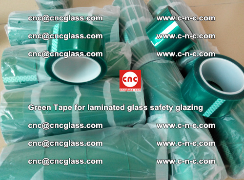 Green Tape for laminated glass safety glazing, EVA FILM, PVB FILM, SGP INTERLAYER (31)