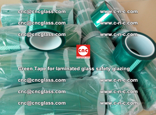 Green Tape for laminated glass safety glazing, EVA FILM, PVB FILM, SGP INTERLAYER (32)