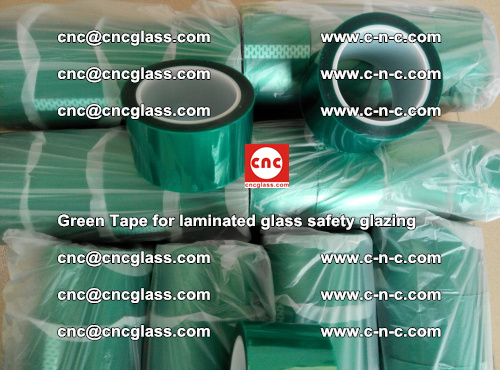 Green Tape for laminated glass safety glazing, EVA FILM, PVB FILM, SGP INTERLAYER (35)