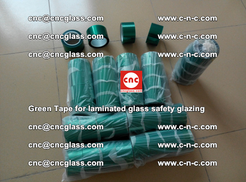Green Tape for laminated glass safety glazing, EVA FILM, PVB FILM, SGP INTERLAYER (4)