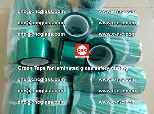 Green Tape for laminated glass safety glazing, EVA FILM, PVB FILM, SGP INTERLAYER (41)