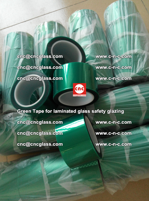 Green Tape for laminated glass safety glazing, EVA FILM, PVB FILM, SGP INTERLAYER (42)