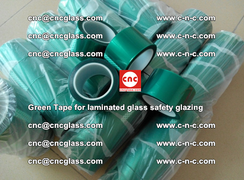 Green Tape for laminated glass safety glazing, EVA FILM, PVB FILM, SGP INTERLAYER (44)