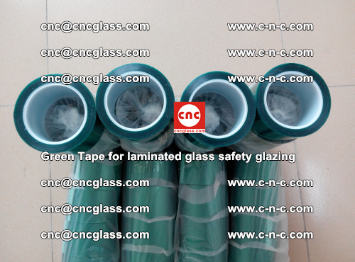 Green Tape for laminated glass safety glazing, EVA FILM, PVB FILM, SGP INTERLAYER (50)