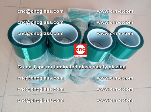 Green Tape for laminated glass safety glazing, EVA FILM, PVB FILM, SGP INTERLAYER (58)