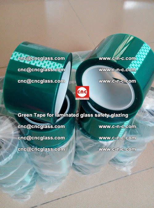Green Tape for laminated glass safety glazing, EVA FILM, PVB FILM, SGP INTERLAYER (61)