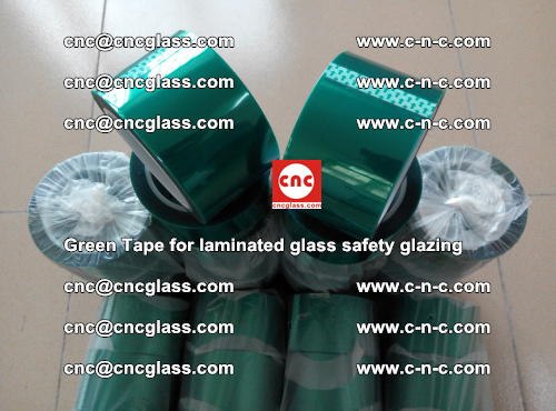 Green Tape for laminated glass safety glazing, EVA FILM, PVB FILM, SGP INTERLAYER (68)