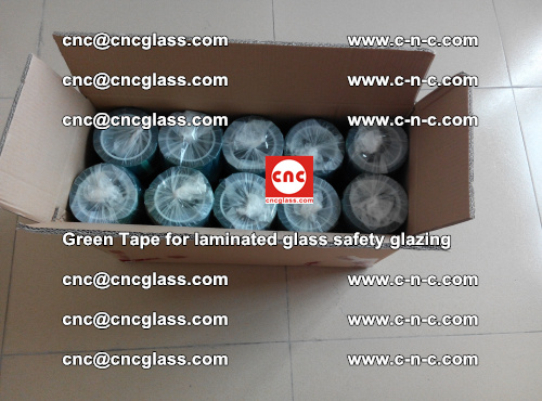 Green Tape for laminated glass safety glazing, EVA FILM, PVB FILM, SGP INTERLAYER (73)