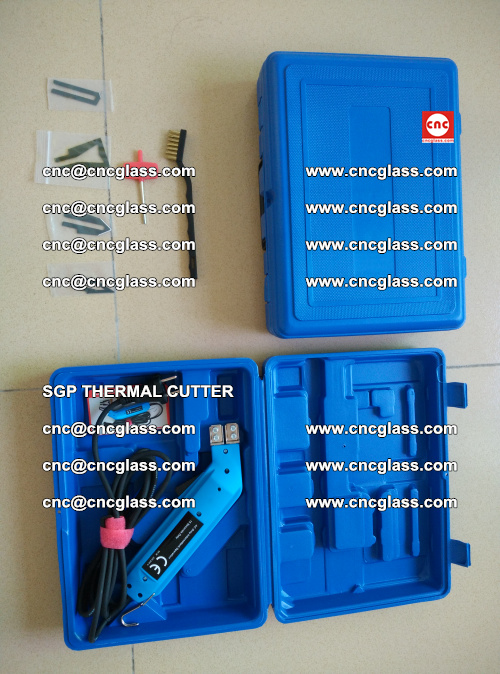 SGP THERMAL CUTTER, cleaning safety laminated galss edges (21)