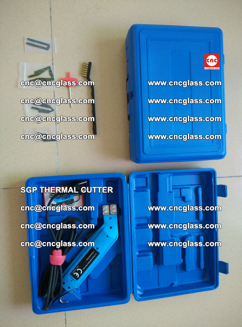SGP THERMAL CUTTER, cleaning safety laminated galss edges (22)