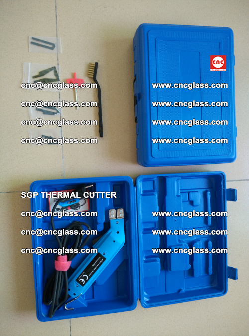 SGP THERMAL CUTTER, cleaning safety laminated galss edges (24)