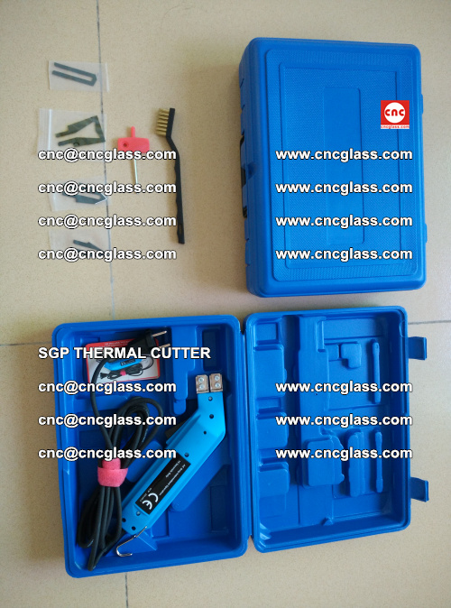 SGP THERMAL CUTTER, cleaning safety laminated galss edges (25)