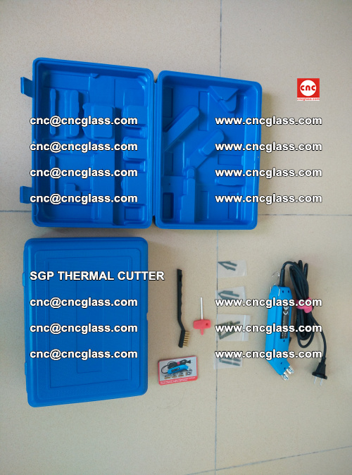 SGP THERMAL CUTTER, cleaning safety laminated galss edges (38)