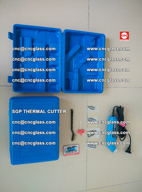 SGP THERMAL CUTTER, cleaning safety laminated galss edges (39)
