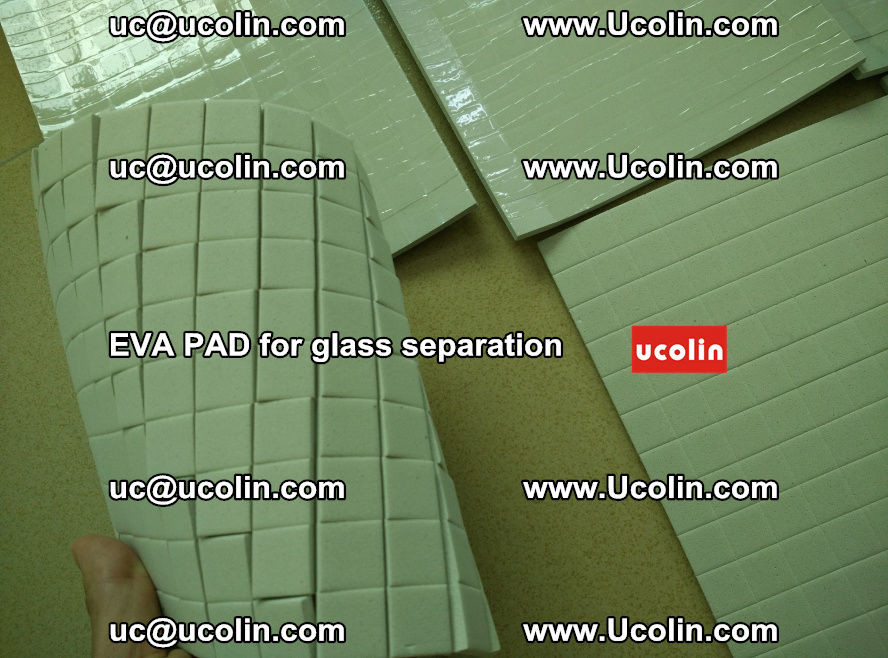 EVA PAD for safety laminated glass separation (1)