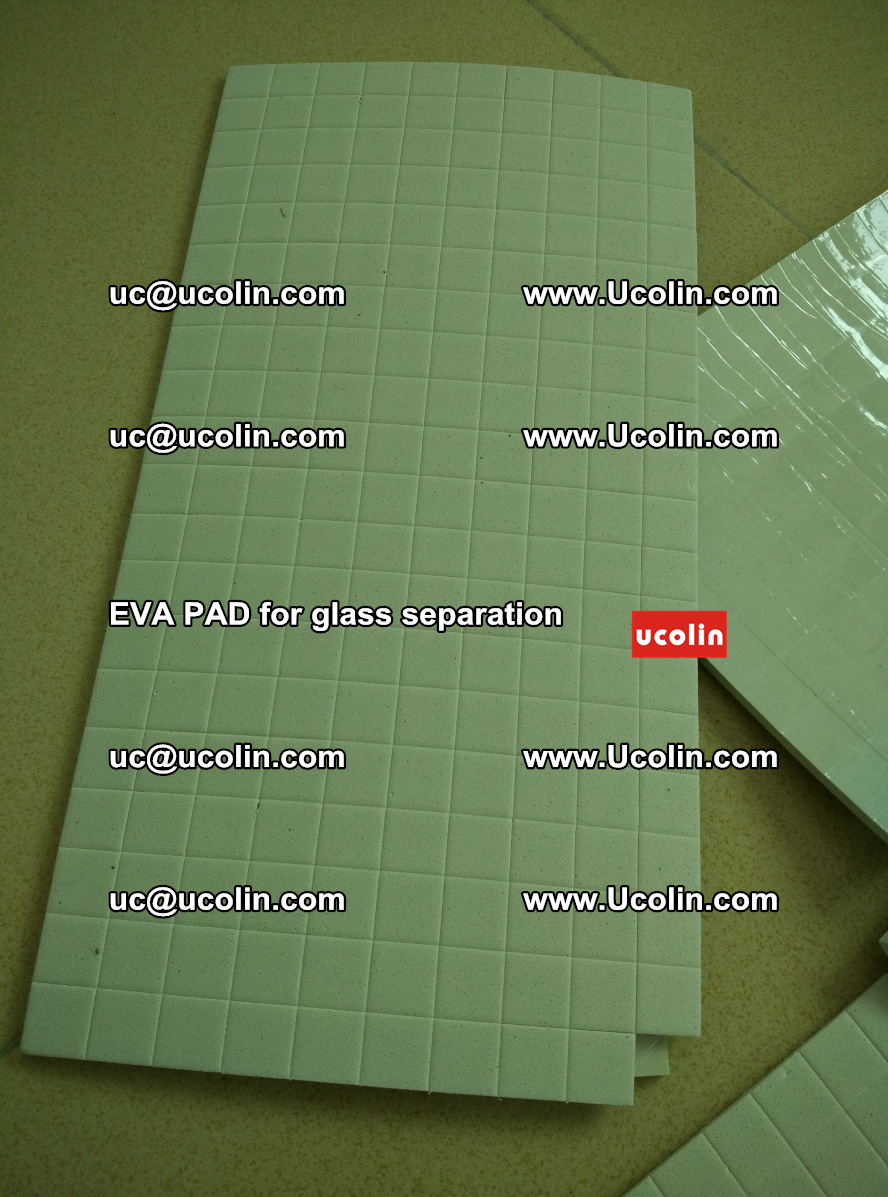 EVA PAD for safety laminated glass separation (34)