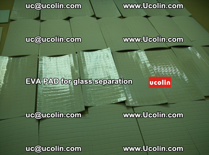 EVA PAD for safety laminated glass separation (38)