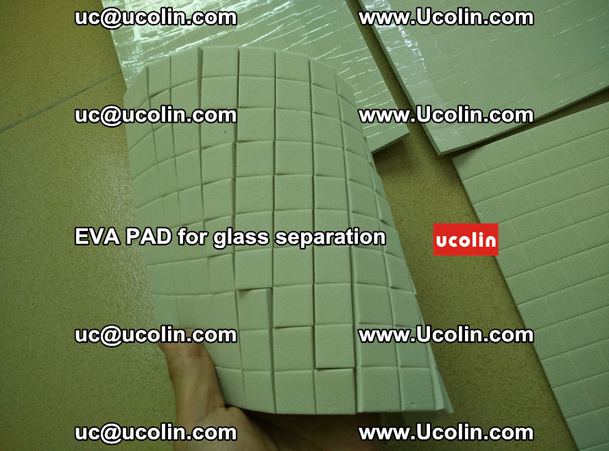 EVA PAD for safety laminated glass separation (5)