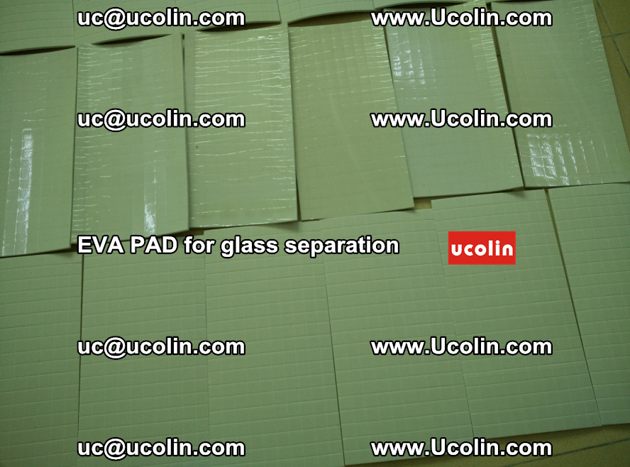 EVA PAD for safety laminated glass separation (55)