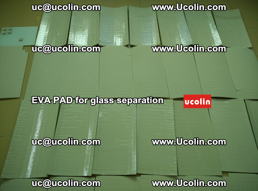 EVA PAD for safety laminated glass separation (60)