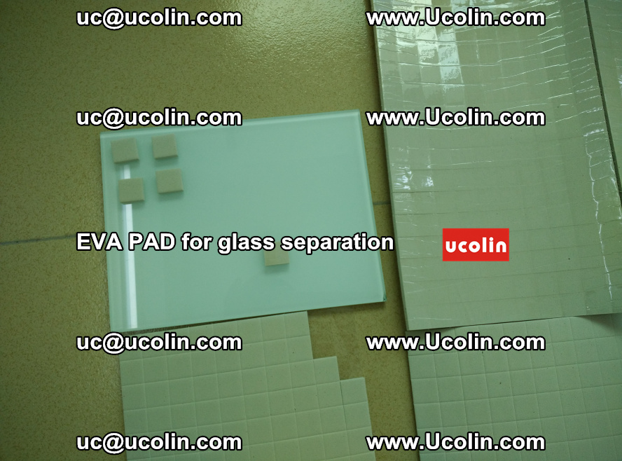 EVA PAD for safety laminated glass separation (62)