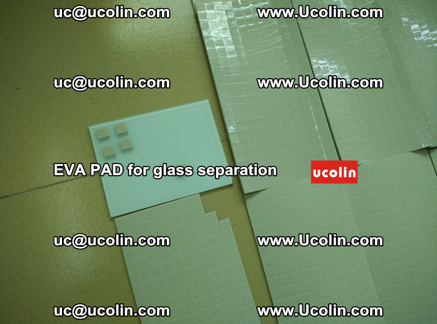 EVA PAD for safety laminated glass separation (64)
