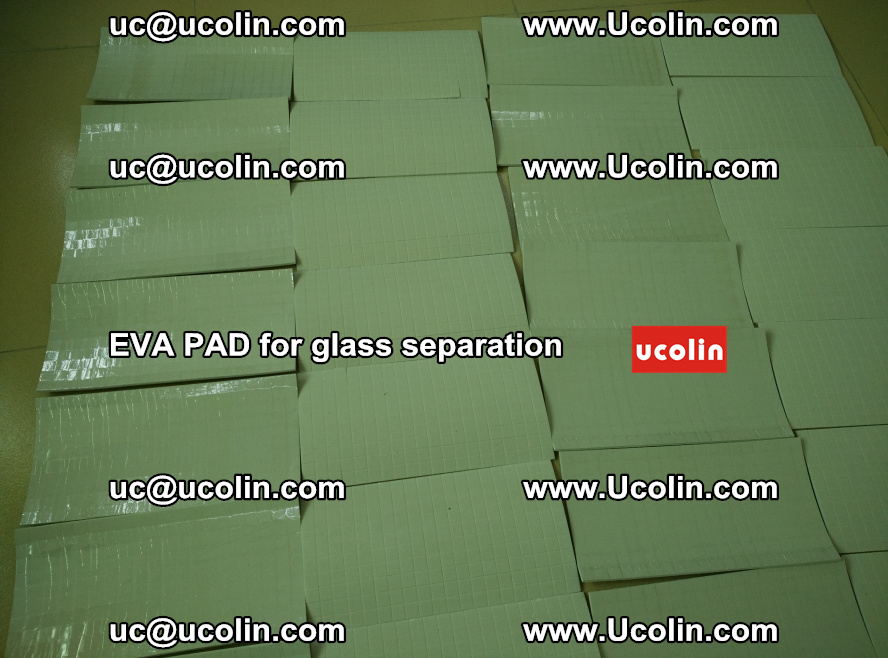 EVA PAD for safety laminated glass separation (69)