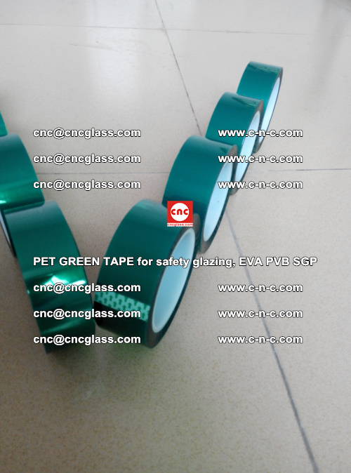PET GREEN TAPE for safety glazing, EVA PVB SGP (13)