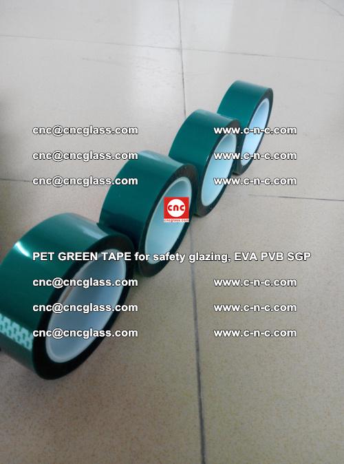 PET GREEN TAPE for safety glazing, EVA PVB SGP (16)