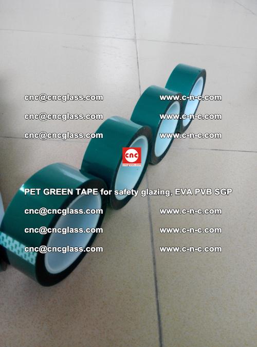 PET GREEN TAPE for safety glazing, EVA PVB SGP (17)