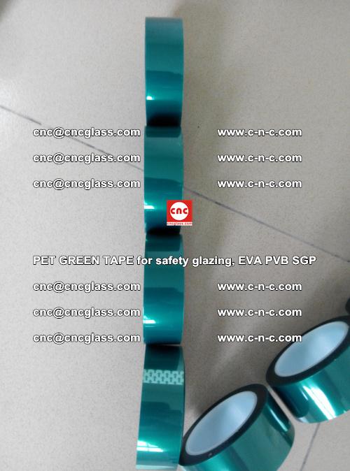 PET GREEN TAPE for safety glazing, EVA PVB SGP (18)