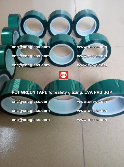 PET GREEN TAPE for safety glazing, EVA PVB SGP (23)