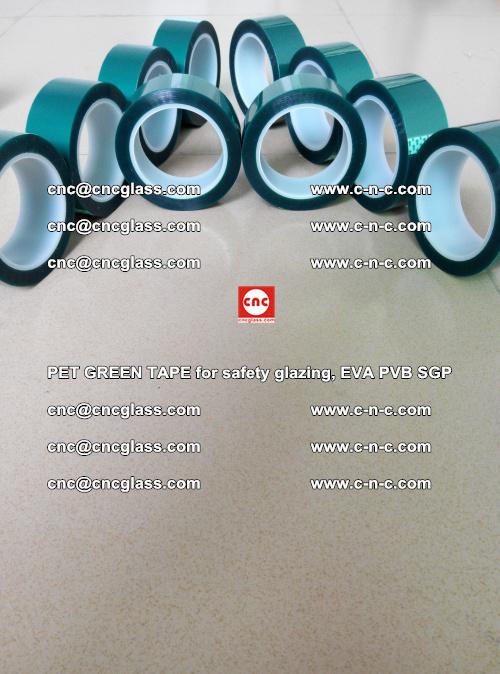 PET GREEN TAPE for safety glazing, EVA PVB SGP (29)