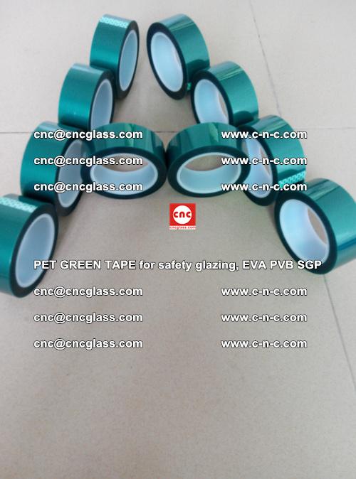 PET GREEN TAPE for safety glazing, EVA PVB SGP (32)