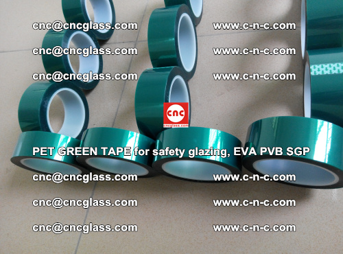 PET GREEN TAPE for safety glazing, EVA PVB SGP (39)