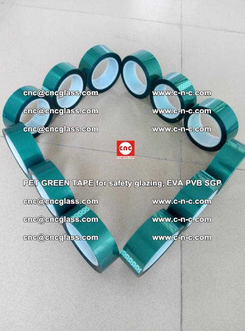 PET GREEN TAPE for safety glazing, EVA PVB SGP (49)
