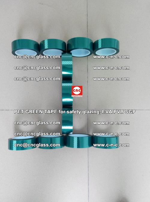 PET GREEN TAPE for safety glazing, EVA PVB SGP (52)