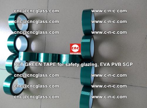 PET GREEN TAPE for safety glazing, EVA PVB SGP (60)
