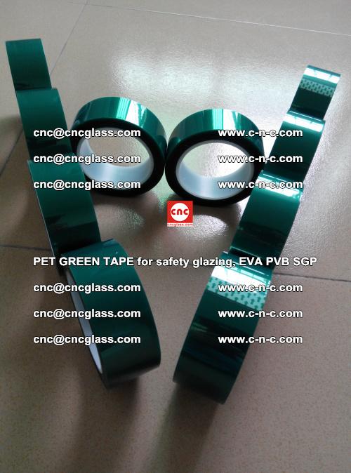 PET GREEN TAPE for safety glazing, EVA PVB SGP (8)