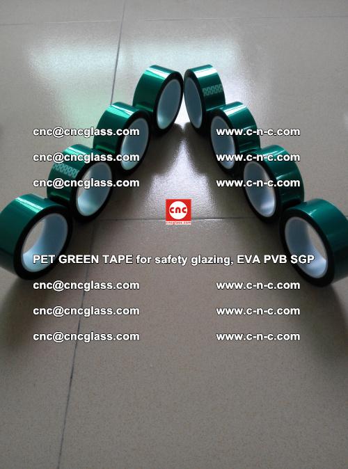 PET GREEN TAPE for safety glazing, EVA PVB SGP (9)