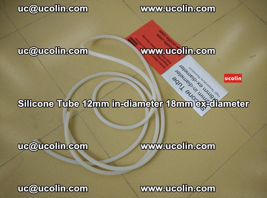 Silicone Tube for vacuuming EVA PVB SGP laminated glass glazing (1)
