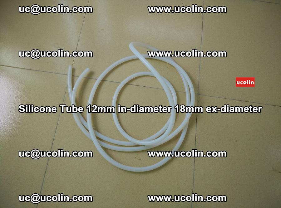 Silicone Tube for vacuuming EVA PVB SGP laminated glass glazing (13)