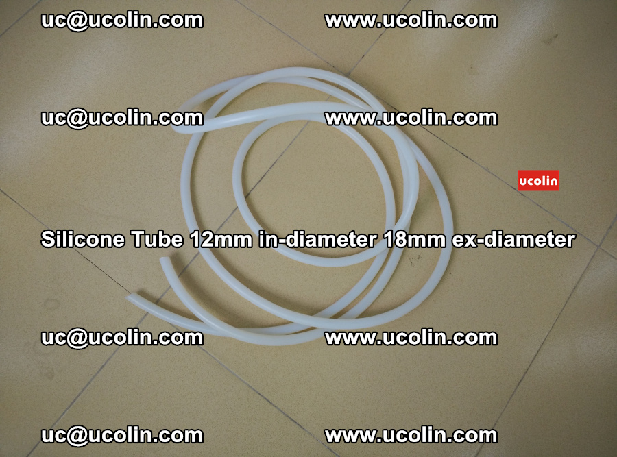 Silicone Tube for vacuuming EVA PVB SGP laminated glass glazing (17)