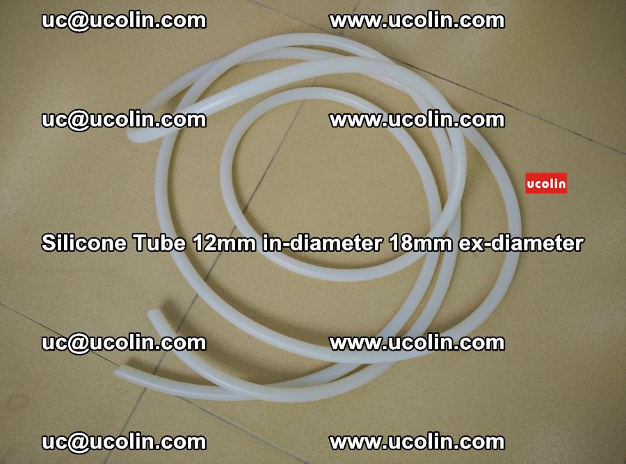 Silicone Tube for vacuuming EVA PVB SGP laminated glass glazing (21)